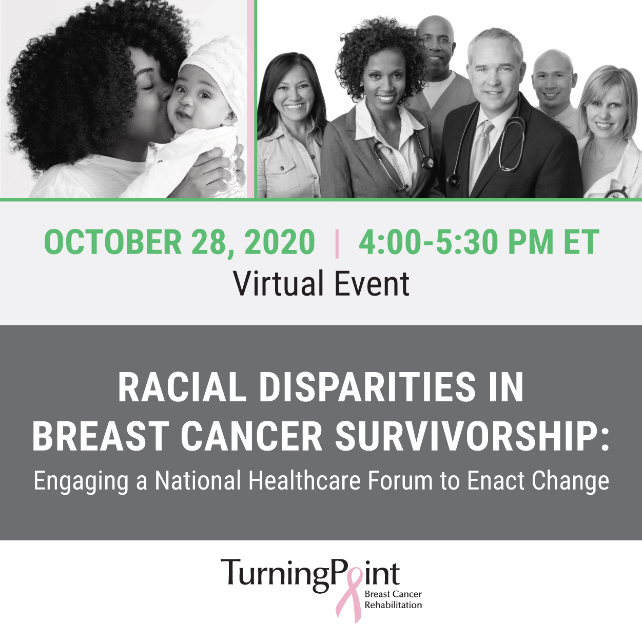 RACIAL DISPARITIES IN BREAST CANCER SURVIVORSHIP: Engaging a National Healthcare Forum for Change