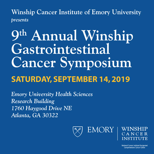 9th Annual Winship Cancer Institute Gastrointestinal Cancer Symposium
