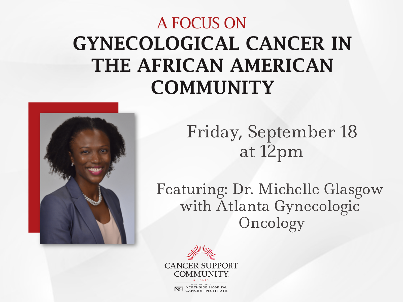A Focus on Gynecological Cancer in the African American Community