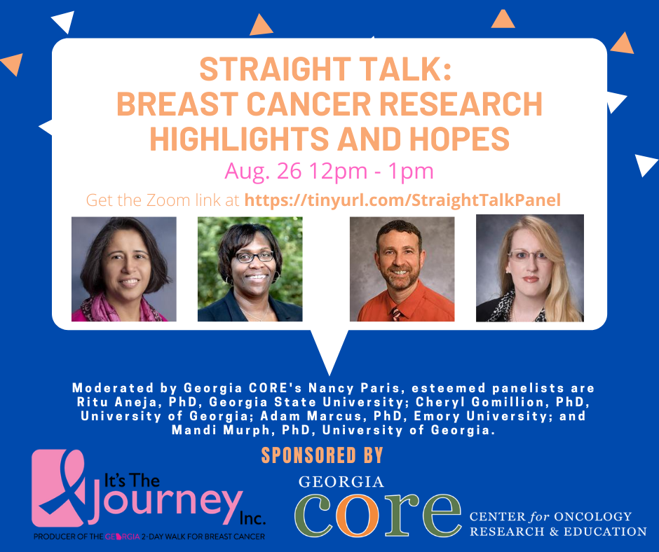 Straight Talk: Breast Cancer Research Highlights and Hopes