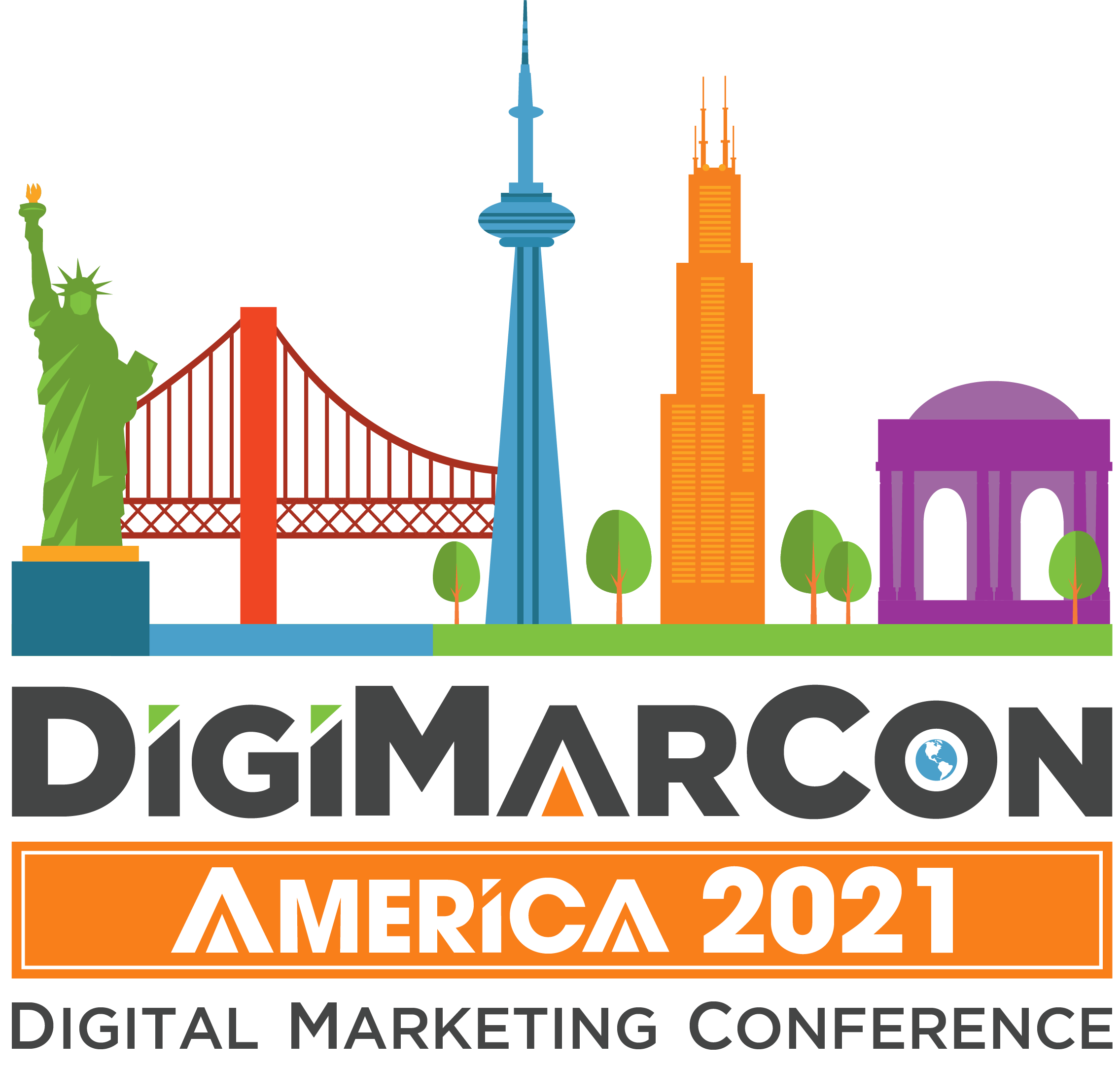 DigiMarCon America 2021 - Digital Marketing, Media and Advertising Conference